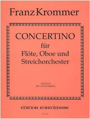 Concertino - Solostimmen + Partitur KROMMER Partition laflutedepan