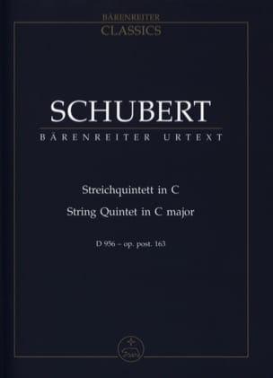 Streichquintett für 2 Violinen, Viola und 2 Violoncelli D 956 C-dur laflutedepan