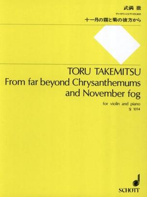 From far beyond Chrysanthemums and November fog TAKEMITSU laflutedepan