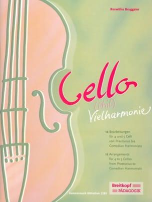 Cello Phil Vielharmonie Roswitha Bruggaier Partition laflutedepan