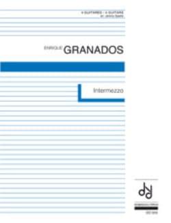 Intermezzo - 4 Guitares - GRANADOS - Partition - laflutedepan.com