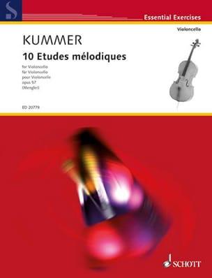 10 Etudes Mélodiques Op. 57 Friedrich-August Kummer laflutedepan