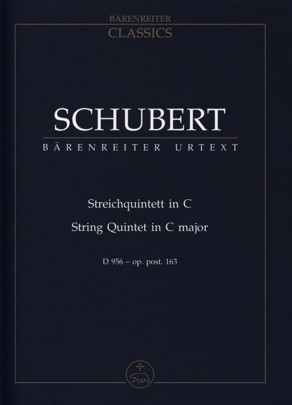 Streichquintett für 2 Violinen, Viola und 2 Violoncelli D 956 C-dur - laflutedepan.com