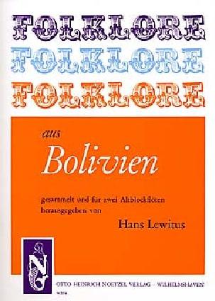Folklore aus Bolivien - 2 Flûtes à Bec Alto - laflutedepan.com