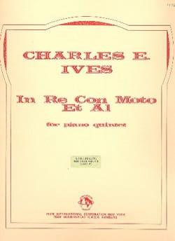 In Re con Moto et Al - Piano quintet - Score + Parts IVES laflutedepan