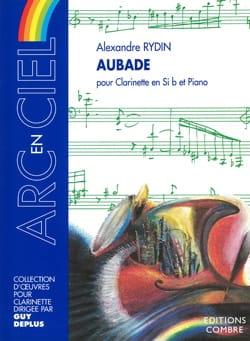 Aubade - Alexandre Rydin - Partition - Clarinette - laflutedepan.com