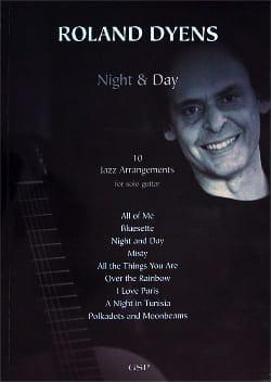 Night & Day 10 Jazz Arrangements Roland Dyens Partition laflutedepan
