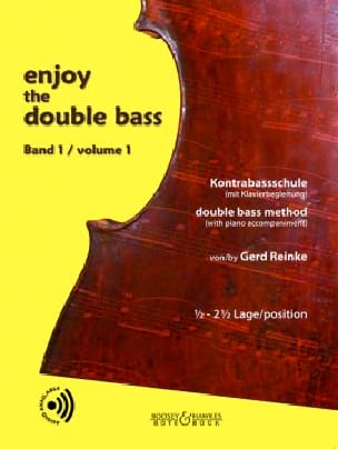 Enjoy The Double Bass Volume 1 Gerd Reinke Partition laflutedepan