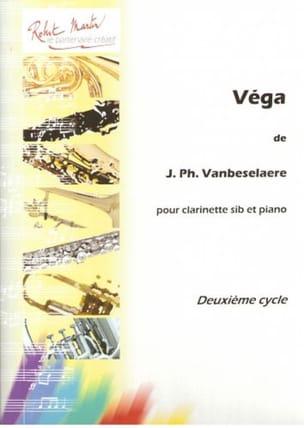 Vega Jean-Philippe Vanbeselaere Partition Clarinette - laflutedepan