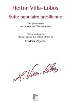 Heitor Villa-Lobos - Brazilian Popular Suite - Partition - di-arezzo.co.uk
