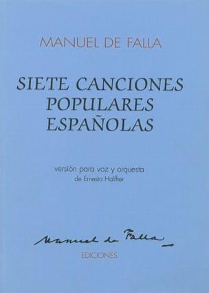 7 Canciones Populares Espanolas - Conducteur - laflutedepan.com