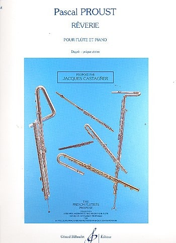 Rêverie - Pascal Proust - Partition - laflutedepan.com