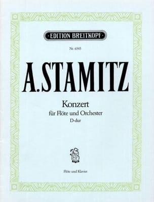 Flötenkonzert D-Dur - Flöte Klavier STAMITZ Partition laflutedepan