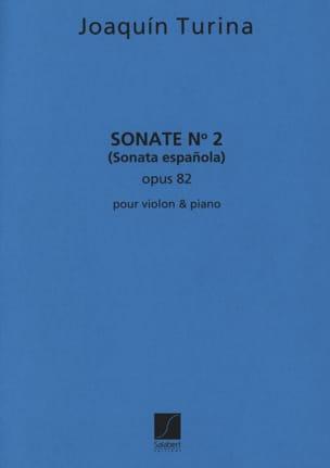Sonate n° 2 op. 82 TURINA Partition Violon - laflutedepan