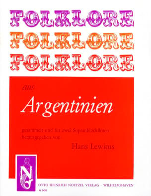 Folklore aus Argentinien - 2 Sopranblockflöten laflutedepan