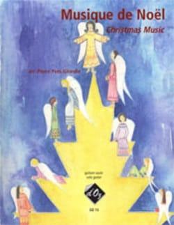 Musique de Noël Partition Guitare - laflutedepan