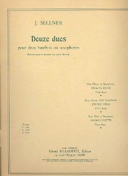 12 Duos -3ème Suite Joseph Sellner Partition Hautbois - laflutedepan