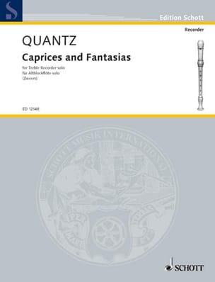 Caprices and Fantasias - Treble recorder solo QUANTZ laflutedepan