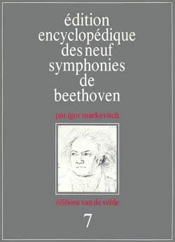 Symphonie n° 7 - Conducteur BEETHOVEN Partition laflutedepan