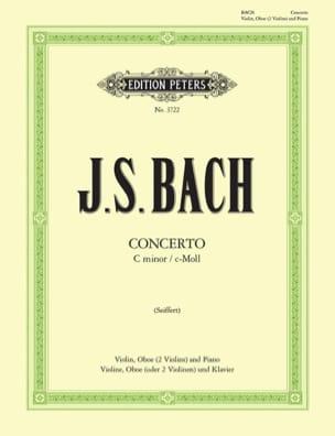 Concerto c-moll BWV 1060 - Violine Oboe Klavier BACH laflutedepan