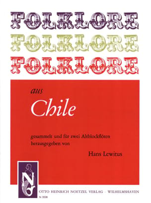 Folklore aus Chile - 2 Altblockflöten Traditionnels laflutedepan