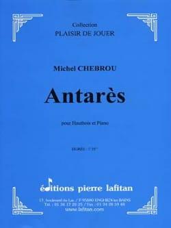 Antares Michel Chebrou Partition Hautbois - laflutedepan