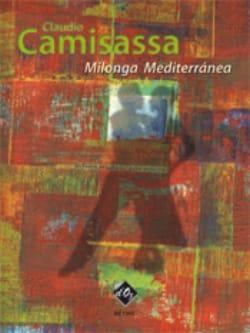 Milonga Mediterranea Claudio Camisassa Partition laflutedepan