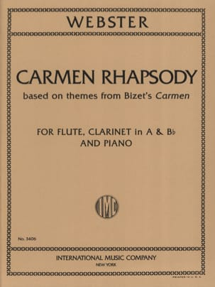 Michael Webster - Carmen Rhapsody - Partition - di-arezzo.co.uk