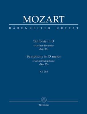 Symphonie Nr. 35 D-dur Haffner KV 385 - Partitur - laflutedepan.com