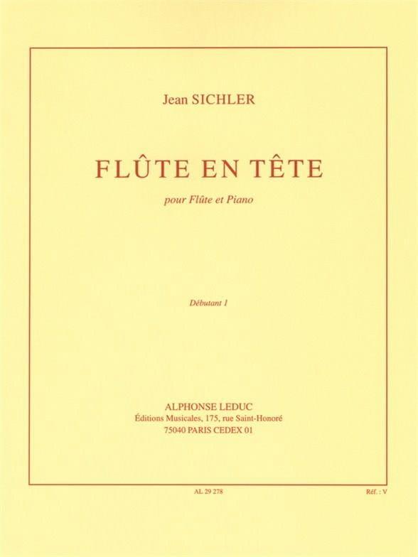 Flûte en tête - Jean Sichler - Partition - laflutedepan.com