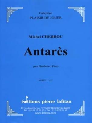 Antares - Michel Chebrou - Partition - Hautbois - laflutedepan.com