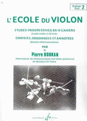 L' Ecole du Violon Volume 2 Pierre Doukan Partition laflutedepan