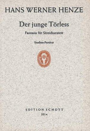 Der Junge Törless - Streichsextett Hans Werner Henze laflutedepan