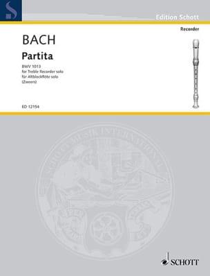 Partita BWV 1013 - Altblockflöte BACH Partition laflutedepan