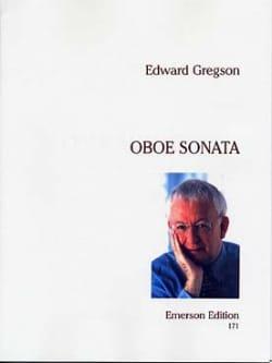 Oboe Sonata Edward Gregson Partition Hautbois - laflutedepan