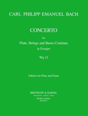 Concerto D Major Wq 13 - Flute Piano laflutedepan