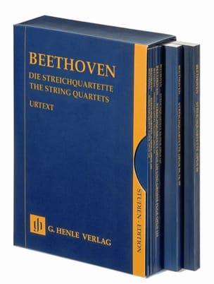 Les quatuors à cordes - 7 volumes réunis dans un coffret laflutedepan