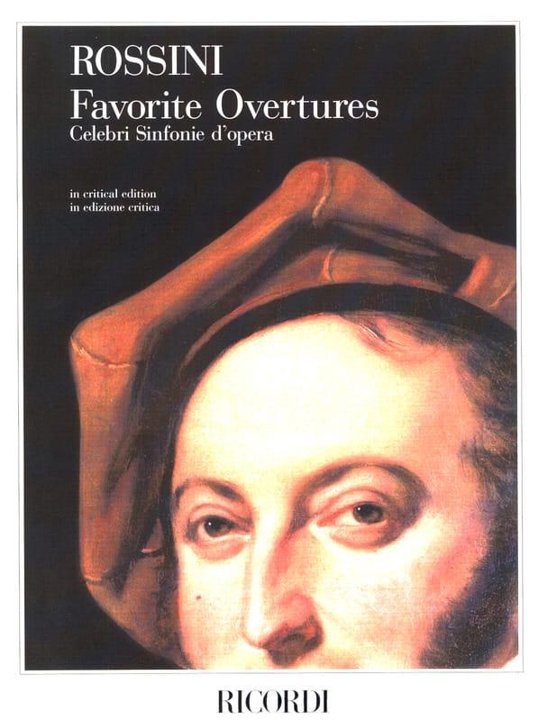 Favorite Overtures -Partitur - ROSSINI - Partition - laflutedepan.com