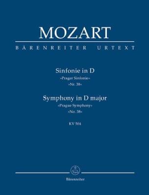 Symphonie Nr. 38 D-Dur Prague KV 504 - Partitur MOZART laflutedepan