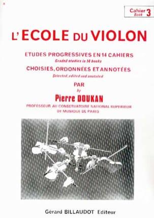 L' Ecole du Violon Volume 3 Pierre Doukan Partition laflutedepan