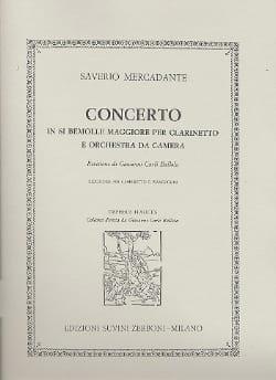 Concerto En Si Bémol Majeur Op. 101 Pour Clarinette laflutedepan