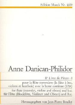 2ème Livre de pièces - Volume 1 - Flûte Bc laflutedepan