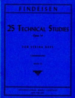 25 Technical Studies Op.14 Vol.3 Théodor Findesein laflutedepan