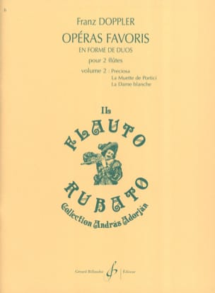 Opéras Favoris en Forme de Duos Volume 2 laflutedepan