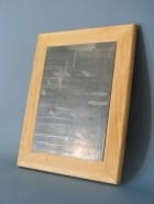 Accessoire - Engraving plate, mounted on wood - Accessoire - di-arezzo.com