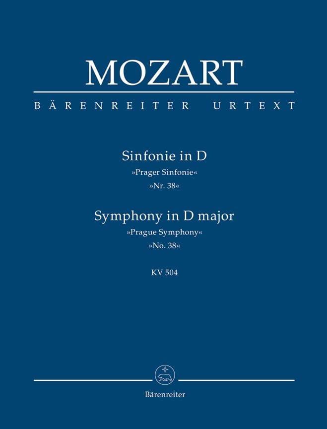 Symphonie Nr. 38 D-Dur Prague KV 504 - Partitur - laflutedepan.com