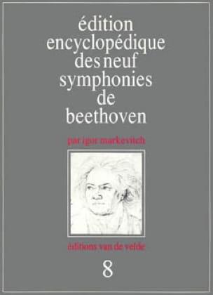 Symphonie n° 8 - Conducteur - BEETHOVEN - Partition - laflutedepan.com