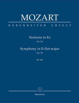 Symphonie Nr. 39 Es-Dur KV 543 - Partitur MOZART laflutedepan