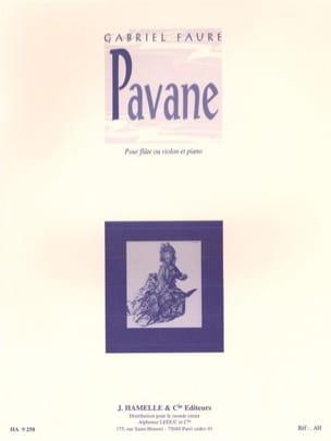 Pavane Op. 50 FAURÉ Partition Flûte traversière - laflutedepan