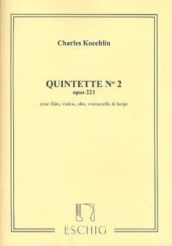 Quintette n° 2 op. 223 -Parties Charles Koechlin laflutedepan